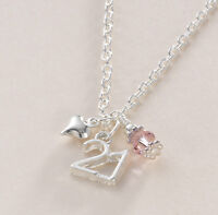 Birthstone Necklace for Age 21, Jewellery Gift for 21st Birthday, New!