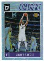 2016-17 Donruss Optic Basketball Crashers Holo Prizm #10 Julius Randle Lakers
