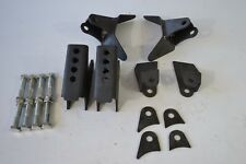 Triangulated 4 Link Brackets Only Weld On Steel Air Ride Suspension 4-Link