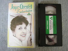 Vtg BBC Video Joyce Grenfell Entertains Humour Song Comedy 70s Nostalgia Wit VHS