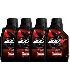 4 litri OLIO FACTORY ROAD RACING MOTUL 300V 10W40 10W 40