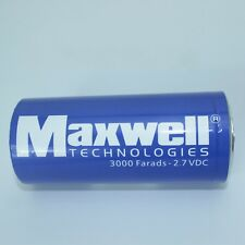 New Maxwell 2.7V3000F super capacitor K2 2.7V 3000F+Connecting Piece #G721 XH