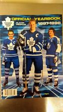 Toronto Maple Leafs Official Yearbook (Player Profiles) 1997-1998