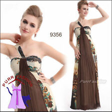 Chiffon Empire line Floral Dresses for Women