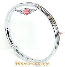 Kreidler Florett RS RMC LF LH  Mofa Moped Mokick Chrom Felge 1,5 x 17 Zoll Neu
