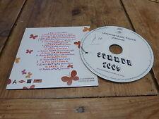 RENAN LUCE - DE PALMAS - LAVOINE - MAURANE - EMILIE SIMON - KOOL SHEN CD PROMO !