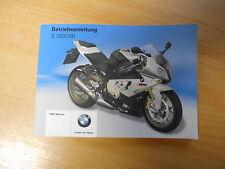 Fahrerhandbuch Bedienungsanleitung BMW S 1000 RR