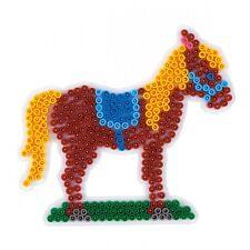HAMA midi Bügelperlen-Stiftplatte weiß Nr.281 Pferd