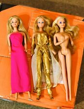 Barbie Dolls Peaches N Cream, Golden Dream Fashion and Accessories 1980