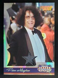 🔥 (1 of 1) '08 Donruss GOLD *Peter Mayhew* Chewbacca Relic #d 1/25 Star Wars 🔥