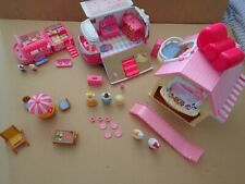 Hello Kitty camper van ice cream car and house bundle