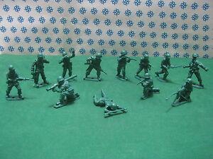 Infantry American 12 Figure 50/60 MM