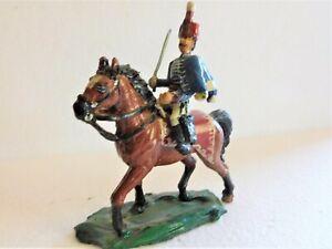 54mm Napoleonic British 10th Hussar  c; 1815