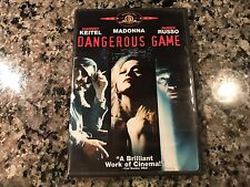 Dangerous Game DVD! 1993 Drama Indie! A Perfect Murder Mulholland Drive Gone