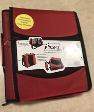Pock-It Plus Ultimate Organizer Binder With Chromebook Laptop Case