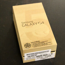 SAMSUNG GALAXY S5 16GB G900F MINT RETAIL BOX & PAPERS - NO PHONE NO ACCESORIES