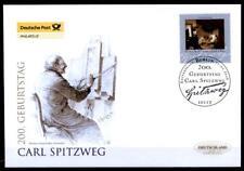 Der arme Poet, Gemälde von Carl Spitzweg (1808-1885). FDC. Berlin. BRD 2008