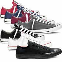Converse Chuck Taylor All Star Low Top Ox Mens Womens Canvas Sneaker Trainers
