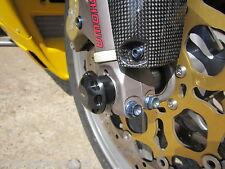 Ducati 748 916 998 999 Sportclassik racing CNC Protektoren Vorderrad Achse EVO