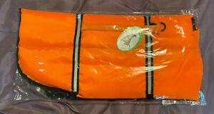Dog Life Jacket Buoyancy Aid Pet Swimming Boating Reflective Safety Vest Suit L