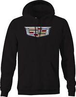 Hoodie Men Cadillac Emblem Logo