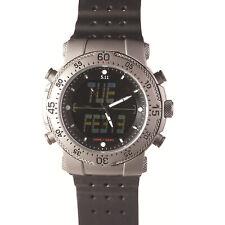 5.11 Tactical HRT Titanium Watch w/ Rubber Band - 59209-999