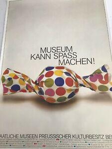 Museums can be fun! Pop Art Candy, Staatliche Museen Preussischer Kultur, Berlin