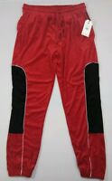 RocaWear Mens Size XL Red Black Embroidered Pants $60 RN# 142677*