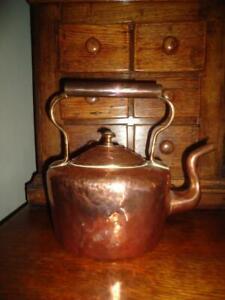 Antique copper kettle early 19thC kitchenalia pub cafe restaurant decor