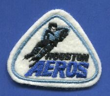 "Houston Aeros Wha Triangle 2 1/2"" x 2 1/16"" Embroidered Patch - 13165"