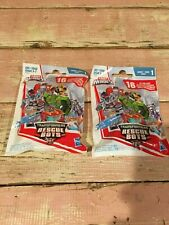 Lot OF 2 Transformers Rescue Bots Series 1 blind bags Hasbro Playskool Heroes