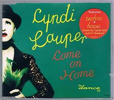 CYNDI LAUPER COME ON HOME TECHNO CD SINGOLO SINGLE cds