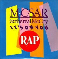 M.C. Sar & The Real McCoy Maxi CD It's On You - France (EX/EX+)