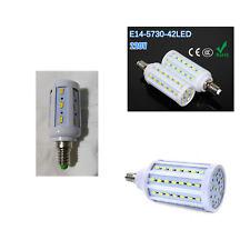 LAMPADA LAMPADINA LED E14 SMD5730 SMD5050 5W 9W 15W LUCE CALDA FREDDA NATURALE