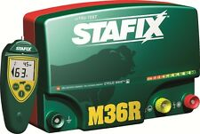 Stafix M36RS Fencer Energizer 220 Miles 36 Joules with Remote!
