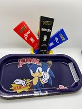 Bundle - 8 x 5 Rolling Tray and Variety Vibes Rolling Paper Cones