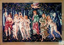 "Needlepoint tapestry canvas.Spring by Sandro Botticelli 36x51"" Gobelin L 12.461"