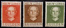 NNG NVPH 19 - 21 Juliana 1950-'52 groot formaat prachtig ongebruikt CW ca. 35,-