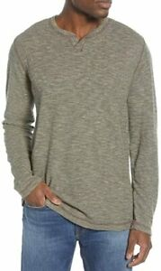 TOMMY BAHAMA Fortuna Flip Abaco Reversible Palm Moss Heather Sweater XL NWT