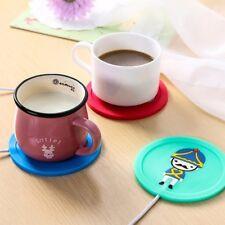 5V USB Silicone Heat Warmer Heater Milk Tea Coffee Mug  Drinks Beverage Cup PAL·