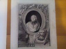 Domenico Cunego,  Kardinal Francois-de Pierre, A. Callet/D.  um 1780, Rom