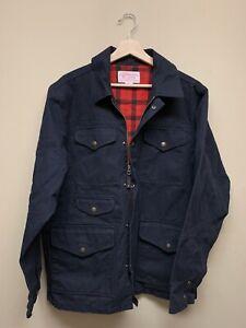 Filson 100% Cotton Jacket Size S Black