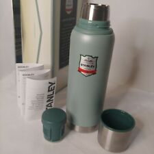 New listing Stanley Classic Insulated Limited Edition Green Stainless Steel 1.1 Qt Thermos