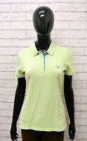 Polo GANT Donna Taglia Size M Maglia Maglietta Shirt Woman Cotone Manica Corta