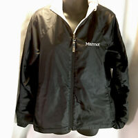 Marmot Windbreaker Women's Medium Lined Black