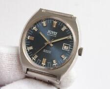 Jenny not Caribbean Vintage Seventies Stainless Steel Automatic Watch ETA 2783