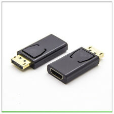New Display Port Male to HDMI Female Adapter Converter DisplayPort DP to HDMI
