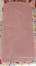"Waverly mauve pink JACQUARD woven fabric Valance 73"" x 14"" (2 available)"