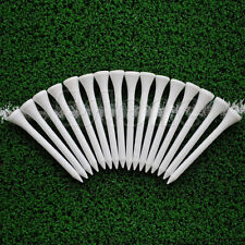 100pcs white 70mm Golf Ball Wood Tee wooden Tees Brand New Hot Sale