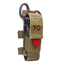 NEW Vism MOLLE Tactical Pouch Medical Kit WITH Tourniquet & Trauma Shears TAN